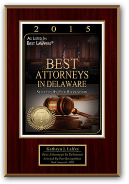 Kathryn Laffey Best Attorney Award